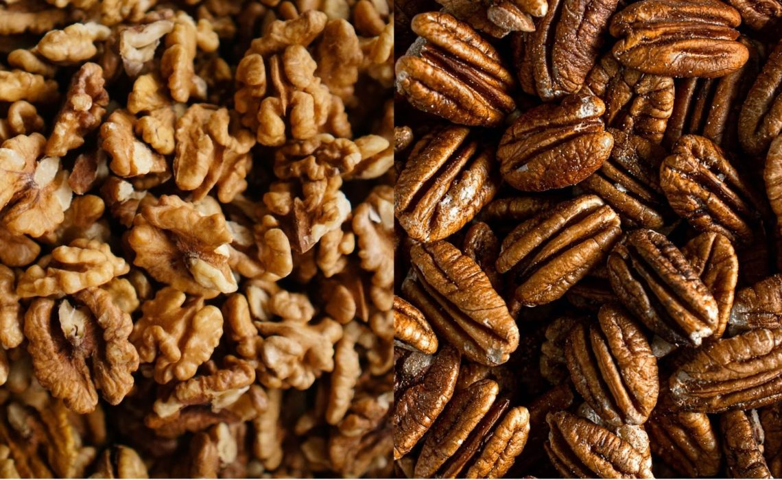 Walnuts vs Pecans? What is the difference?